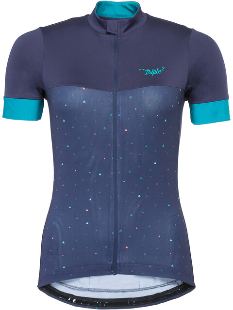 Triple2 Velozip Performance Jersey Women Peacoat